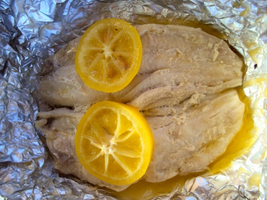 Fish Fillets on the Grill