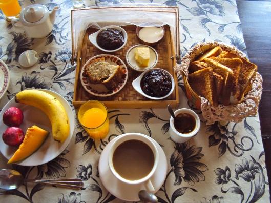 Casa Los Jazmines Breakfast