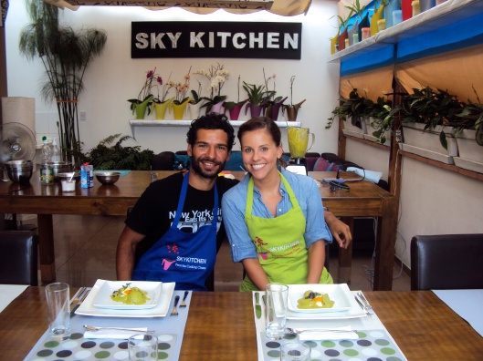 Sky Kitchen in Lima, Peru