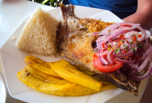 Fried Fish & Plantains