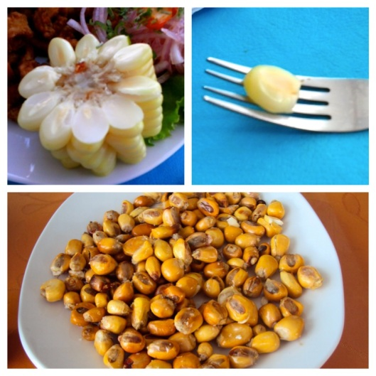 Peruvian Corn and Cancha