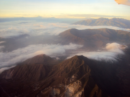 Last View of Ecuador from the Plane